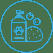 icon pet bathing